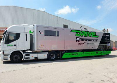 Rotulación camión