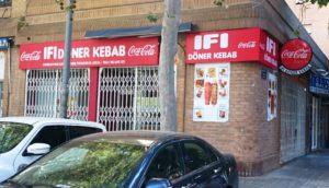 Rótulo Ifi Döner Kebab