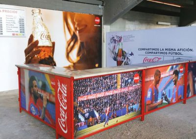 Stand Coca-Cola Levante UD
